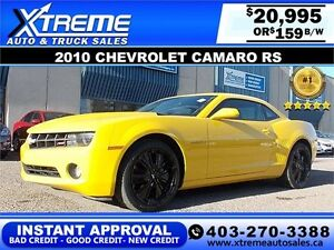 2010 Chevrolet Camaro RS $159 bi-weekly APPLY NOW DRIVE NOW