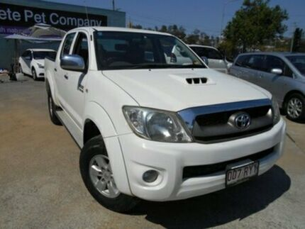 2008 Toyota Hilux SR5 White Automatic Dual Cab