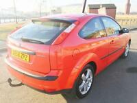FORD FOCUS 1.6 Zetec Climate 3dr (red) 2006