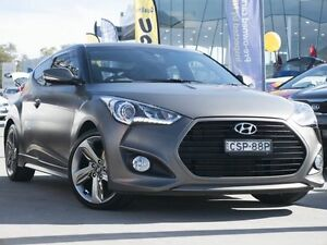2014 Hyundai Veloster FS4 Series II SR Coupe Turbo + Matte Grey 6 Speed Manual Hatchback Pearce Woden Valley Preview