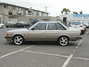 1985 Toyota Cressida MX62 GL Gold 4 Speed Automatic Sedan Maidstone Maribyrnong Area Preview