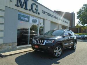 2011 Jeep Grand Cherokee Overland w/Leather/Pano Roof/Navi