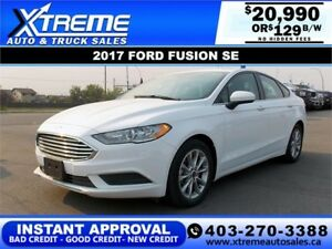 2017 FORD FUSION SE $129 BI-WEEKLY *$0 DOWN* APPLY NOW