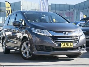 2016 Honda Odyssey RC MY16 VTi Grey 7 Speed Constant Variable Wagon Pearce Woden Valley Preview