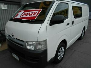 2006 Toyota HiAce TRH201R MY07 Upgrade LWB White 5 Speed Manual Van West Hindmarsh Charles Sturt Area Preview