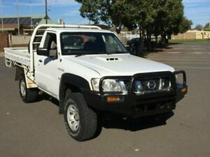 2008 Nissan Patrol GU MY08 DX (4x4) 5 Speed Manual Leaf Cab Chassis Clarence Gardens Mitcham Area Preview