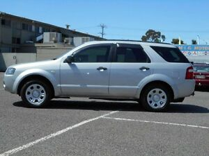 2008 Ford Territory SY MY07 Upgrade TX (RWD) Silver 4 Speed Auto Seq Sportshift Wagon Maidstone Maribyrnong Area Preview