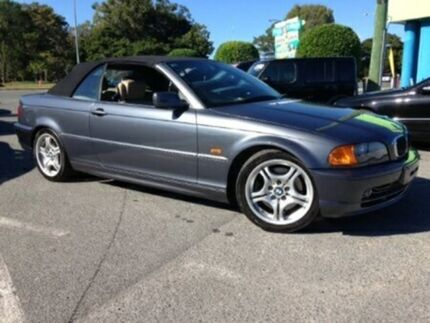 2000 BMW 330CI E46 Grey 5 Speed Automatic Convertible Bundall Gold Coast City Preview