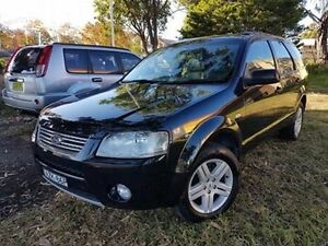 2006 Ford Territory SY Ghia (RWD) Black 6 Speed Auto Sequential Wagon Campbelltown Campbelltown Area Preview