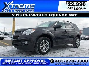 2013 CHEVROLET EQUINOX 2LT $169 BI-WEEKLY APPLY NOW DRIVE NOW