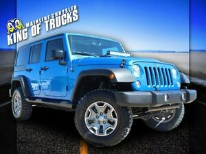 2015 Jeep Wrangler Unlimited Rubicon Remote Keyless Entry| Heate
