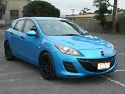 2010 Mazda 3 BL Neo Blue 6 Speed Manual Hatchback Maidstone Maribyrnong Area Preview