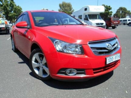 2009 Holden Cruze JG CDX Red 6 Speed Automatic Sedan Maidstone Maribyrnong Area Preview