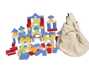 ELC Wooden Blocks - Great quality educational learning toy