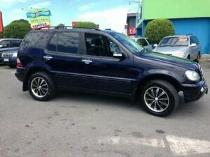 2002 Mercedes-Benz ML270 CDI W163 MY2002 Luxury Blue 5 Speed Sports Automatic Wagon Bundall Gold Coast City Preview