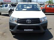 2015 Toyota Hilux TGN121R Workmate White 5 Speed Manual Cab Chassis South Nowra Nowra-Bomaderry Preview