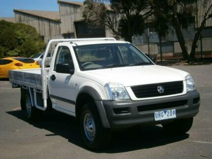 2006 Holden Rodeo RA MY06 Upgrade LT White 4 Speed Automatic Crew Cab Pickup Braybrook Maribyrnong Area Preview