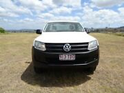 2012 Volkswagen Amarok 2H MY13 TSI300 4x2 White 6 Speed Manual Cab Chassis Archerfield Brisbane South West Preview
