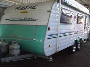 #1857 Windsor 19' streamline delux van, Has Heron Wall Air/Con Penrith Penrith Area Preview