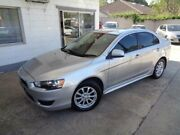 2010 Mitsubishi Lancer CJ MY10 Activ Silver 6 Speed CVT Auto Sequential Sedan Sylvania Sutherland Area Preview