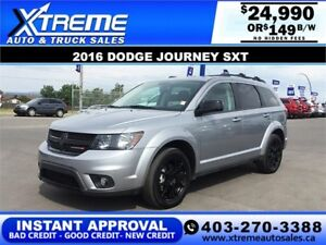 2016 Dodge Journey SXT $149 BI-WEEKLY APPLY NOW DRIVE NOW