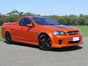 2009 Holden Ute VE MY10 SS V Orange Sports Automatic Utility