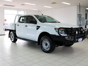 2013 Ford Ranger PX XL 3.2 (4x4) White 6 Speed Manual Dual Cab Utility Morley Bayswater Area Preview