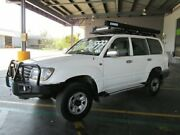 2003 Toyota Landcruiser UZJ100R GXL White 5 Speed Automatic Wagon Archerfield Brisbane South West Preview