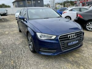 2013 Audi A3 8V Sportback 1.8 TFSI Ambition Blue 7 Speed Auto Direct Shift Hatchback Five Dock Canada Bay Area Preview