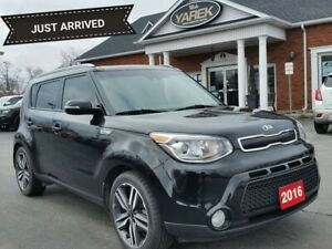 2016 Kia Soul SX Luxury, Heated/Cooled Seats, NAV, Pano Roof, Ba
