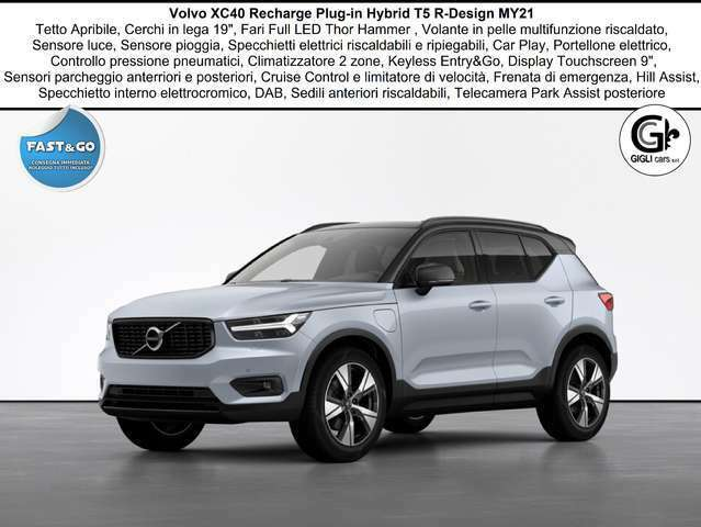 Volvo XC40 T5 Recharge R-design C19 Tetto Navi PDC WinterPack
