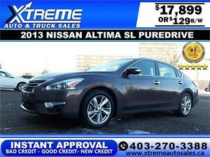 2013 Nissan Altima SL $129 bi-weekly $0 DOWN APPLY NOW DRIVE NOW