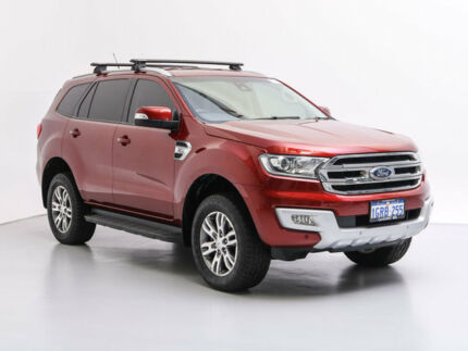 2015 Ford Everest UA Trend Red 6 Speed Automatic Wagon Jandakot Cockburn Area Preview