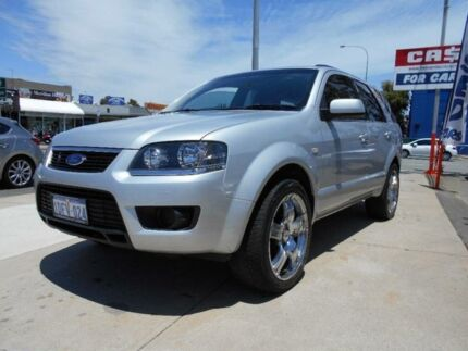 2009 Ford Territory SY Mkii TS (RWD) Silver 4 Speed Auto Seq Sportshift Wagon Fremantle Fremantle Area Preview