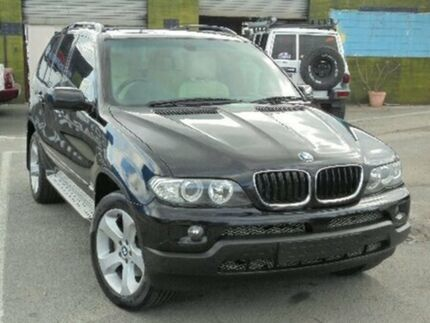 2006 BMW X5 E53 MY05 d Steptronic Black 6 Speed Sports Automatic Wagon