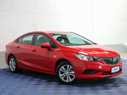 2017 Holden Astra BL MY17 LS Absolute Red 6 Speed Automatic Sedan