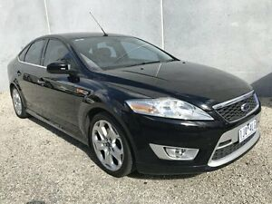 2007 Ford Mondeo MA XR5 Turbo Black 6 Speed Manual Hatchback Frankston North Frankston Area Preview
