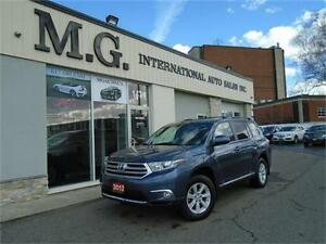 2012 Toyota Highlander 4WD 7 PASS. w/Leather/Backup Camera
