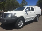 2012 Toyota Hilux KUN26R MY12 SR5 (4x4) 4 Speed Automatic Dual Cab Pick-up Clarence Gardens Mitcham Area Preview