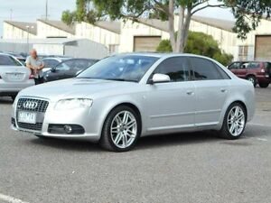 2008 Audi A4 B7 2.0 TFSI S-Line Silver CVT Multitronic Sedan Maidstone Maribyrnong Area Preview