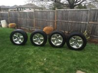 Tires and rims size p275 60r20