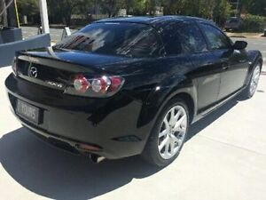 2008 Mazda RX-8 FE1032 Luxury Black Semi Auto Coupe Kippa-ring Redcliffe Area Preview