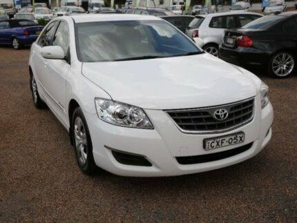 2008 Toyota Aurion GSV40R AT-X White 6 Speed Sports Automatic Sedan Mount Druitt Blacktown Area Preview