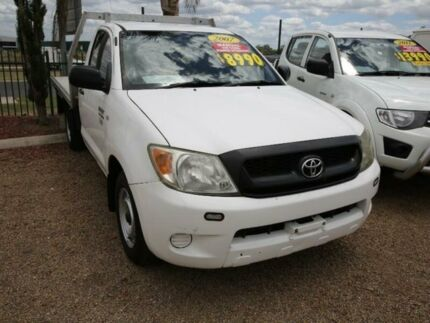 2007 Toyota Hilux GGN15R MY07 SR 5 Speed Manual Cab Chassis Mount Druitt Blacktown Area Preview