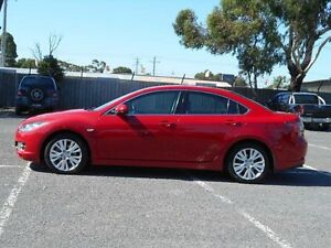 2008 Mazda 6 GH Limited Red 6 Speed Manual Sedan Maidstone Maribyrnong Area Preview