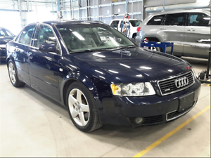 2004 Audi A4 3.0L AWD! Leather! Heated Seats! Sunroof!