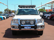 2009 Toyota Landcruiser VDJ200R Sahara (4x4) White 6 Speed Automatic Wagon Jandakot Cockburn Area Preview