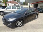 2010 Mazda 6 GH MY10 Touring Black 5 Speed Auto Activematic Wagon Sylvania Sutherland Area Preview