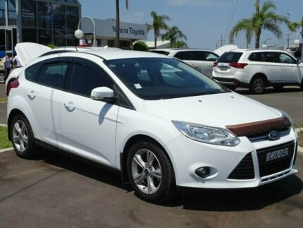 2012 Ford Focus LW MK2 Trend White 5 Speed Manual Hatchback South Nowra Nowra-Bomaderry Preview
