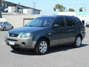 2006 Ford Territory SY TX (4x4) Green 6 Speed Auto Seq Sportshift Wagon Maidstone Maribyrnong Area Preview